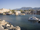 Fort and Harbour, Kyrenia, North Cyprus, Mediterranean, Europe Photographic Print by Philip Craven