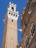 Palazzo Pubblico, Piazza Del Campo, UNESCO World Heritage Site, Siena, Tuscany, Italy Photographic Print by Martin Child