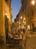 Scala Street, Trastevere, Rome, Lazio, Italy, Europe Photographic Print by Marco Cristofori