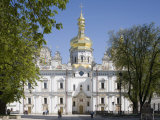 Uspensky Cathedral, Upper Lavra, Pechersk Lavra, Kiev, UKraine, Europe Photographic Print by Philip Craven