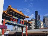 Chinatown Gate, International District, Seattle, Washington State, USA Photographic Print by Richard Cummins