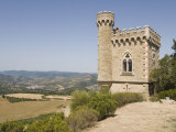 Tower, Rennes-Le Chateau, Aude, Languedoc-Roussillon, France, Europe Photographic Print by Martin Child