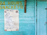 Snackette, Portsmouth, Dominica, Lesser Antilles, Windward Islands, West Indies Photographic Print by Richard Cummins