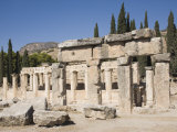 Agora, Archaeological Site of Hierapolis, Pamukkale, Anatolia, Turkey Minor, Eurasia Photographic Print by Philip Craven