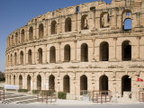 Amphitheatre, El Jem, UNESCO World Heritage Site, Tunisia, North Africa, Africa Photographic Print by Philip Craven
