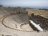 Theatre, Built 200Bc, Archaeological Site of Hierapolis, Pamukkale, Anatolia, Turkey Minor, Eurasia Photographic Print by Philip Craven