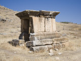Tomb, Archaeological Site of Hierapolis, Pamukkale, Anatolia, Turkey Minor, Eurasia Photographic Print by Philip Craven