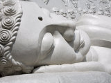 Reclining Buddha at Long Son Pagoda, Nha Trang City, Vietnam, Indochina, Southeast Asia Photographic Print by Richard Cummins