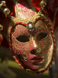 Venetian Mask, Venice, Veneto, Italy, Europe Photographic Print by Richard Cummins