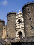Entrance to Nuovo Castle, Naples, Campania, Italy, Europe Photographic Print by Richard Cummins