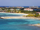 Oranjestad City and Coastline, Aruba, West Indies, Caribbean, Central America Photographic Print by Richard Cummins