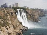 Waterfall, Duden Stream, Antalya, Anatolia, Turkey Minor, Eurasia Photographic Print by Philip Craven