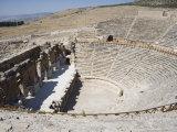 Theatre, Built 200Bc, Archaeological Site of Hierapolis, Pamukkale, Anatolia, Turkey Minor, Eurasia Photographic Print by Philip Craven