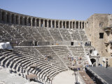 Amphitheatre Dating from 162 AD, Aspendos, Antalya Region, Anatolia, Turkey Minor, Eurasia Photographic Print by Philip Craven