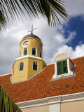 Fort Church in Fort Amsterdam, Punda District, Willemstad, Curacao, West Indies Photographic Print by Richard Cummins