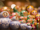 Russian Dolls in Shop, Old Town, Prague, Czech Republic, Europe Photographic Print by Martin Child