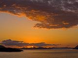 Sunset on the Dalmatian Coast, Dubrovnik Area, Dalmatia, Croatia, Europe Photographic Print by Richard Cummins