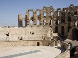 Amphitheatre, El Jem, UNESCO World Heritage Site, Tunisia, North Africa, Africa Photographic Print by Philip Craven
