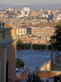 View from Gianicolo, Rome, Lazio, Italy, Europe Photographic Print by Marco Cristofori