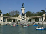 Alfonso XII Monument, Retiro Park, Madrid, Spain, Europe Photographic Print by Marco Cristofori