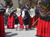Celebrations of First Friday of May, Jaca, Aragon, Spain, Europe Photographic Print by Marco Cristofori