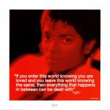 Michael Jackson: Loved Kunstdrucke