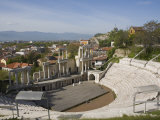 Roman Theatre of Ancient Philippopolis, Plovdiv, Bulgaria, Europe Photographic Print by Marco Cristofori