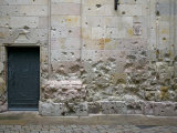 Signs of the Civil War in Sant Felip Neri Square, Gothic Quarter, Barcelona, Catalonia, Spain Photographic Print by Marco Cristofori