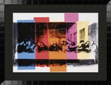 Detail of the Last Supper, c.1986 Print by Andy Warhol