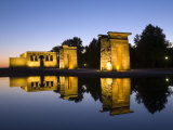 Debod Temple, Madrid, Spain, Europe Photographic Print by Marco Cristofori