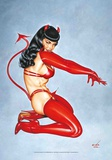 Bettie Page - Red Devil Posters