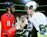 Alex Ovechkin & Sidney Crosby 2008-09 Playoffs Photo