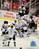 Pittsburgh Penguins Celebration Game 7 of the 2008-09 NHL Stanley Cup Finals Photo