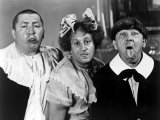 All the World's a Stooge, Curly Howard, Larry Fine, Moe Howard, 1941 Print