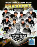 2008-09 Pittsburgh Penguins Stanley Cup Champions Photo
