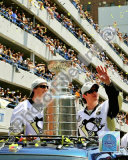 Marc-Andre Fleury & Sidney Crosby 2009 Stanley Cup Champions Victory Parade Photo