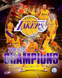 2008-09 Los Angeles Lakers NBA Finals Champions Photo