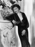 The Gilded Lily, Claudette Colbert, in a Gown by Travis Banton, 1935 Prints