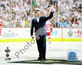 Mario Lemieux Ceremonial Puck Drop Game Three of the 2009 NHL Stanley Cup Finals Photo