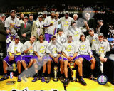 The Los Angeles Lakers Celebrate Game Five of the 2009 NBA Finals Photo