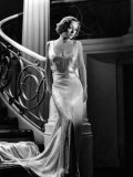 I Live My Life, Joan Crawford Wearing Evening Gown Designed by Adrian, 1935 Fotografía