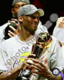 Kobe Bryant Game Five of the 2009 NBA Finals With MVP Trophy Photo