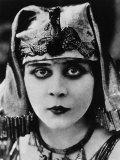 Cleopatra, Theda Bara, 1917 Print