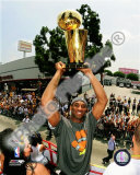 Kobe Bryant 2009 NBA Championship Victory Parade Photo