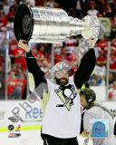 Bill Guerin Game 7 - 2008-09 NHL Stanley Cup Finals With Trophy Photo