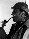 Hound of the Baskervilles Basil Rathbone as Sherlock Holmes, 1939 Prints