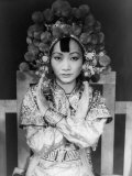 Anna May Wong, 1905-1961, Chinese-American Actress Who Persevered Against Discrimination, 1937 Prints by Carl Van Vechten
