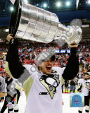 Sidney Crosby Game 7 - 2008-09 NHL Stanley Cup Finals With Trophy Photo