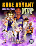 Kobe Bryant -&#39;09 Finals MVP Foto