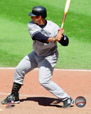 Jorge Posada - 2009 Batting Action Photo